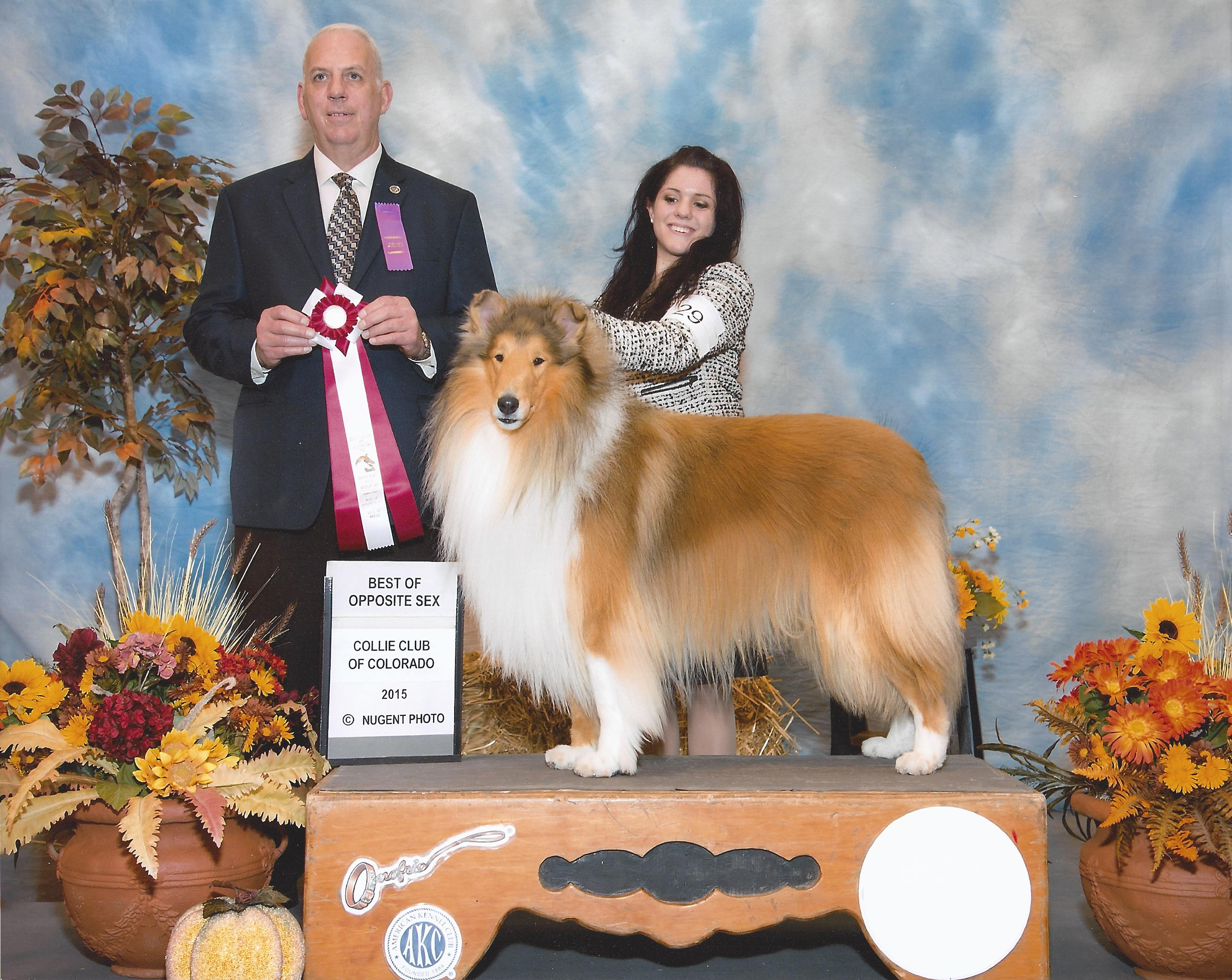 Zeke at the 2015 Fall Specialty